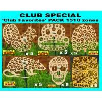 Club Special '30 CLUB FAVORITES'  Reactive Target Pack 1510 zones