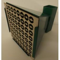 14cm STEEL PELLET CATCHER TARGET HOLDER (with 10 Assorted REACTIVE TARGETS)