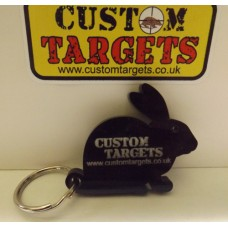 Custom Targets Black Rabbit Keyring
