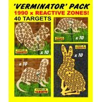 VERMINATOR PACK  (40 Reactive Targets - 1990 shoot away zones)